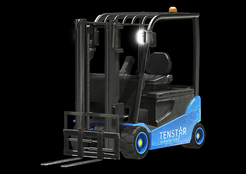 tenstar heftruck simulator