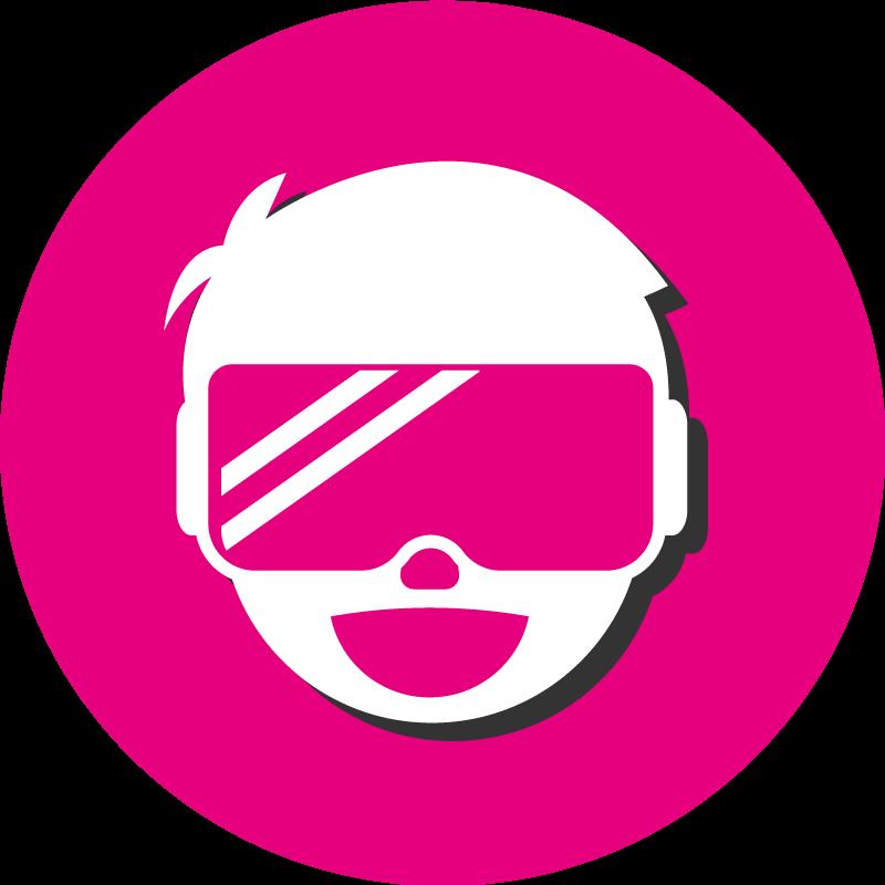 Virtual reality icoon   HK Simulatoren