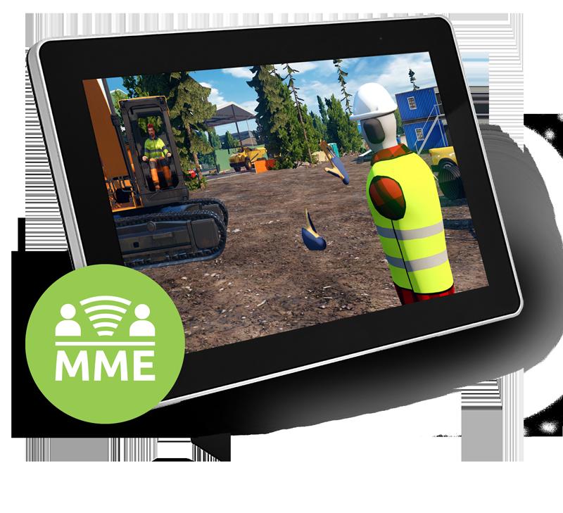 Afbeelding van het gebruik van het unieke Tenstar MME Multi machine environment systeem
