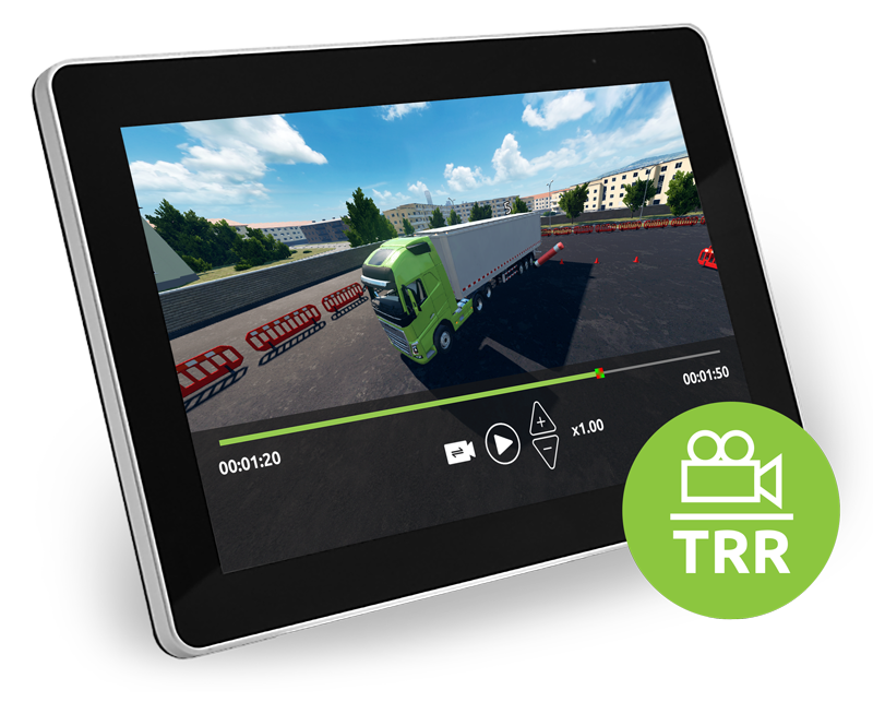 Tenstar record en replay systeem bestemd voor het analyseren van gedane oefeningen op de Tenstar simulator.